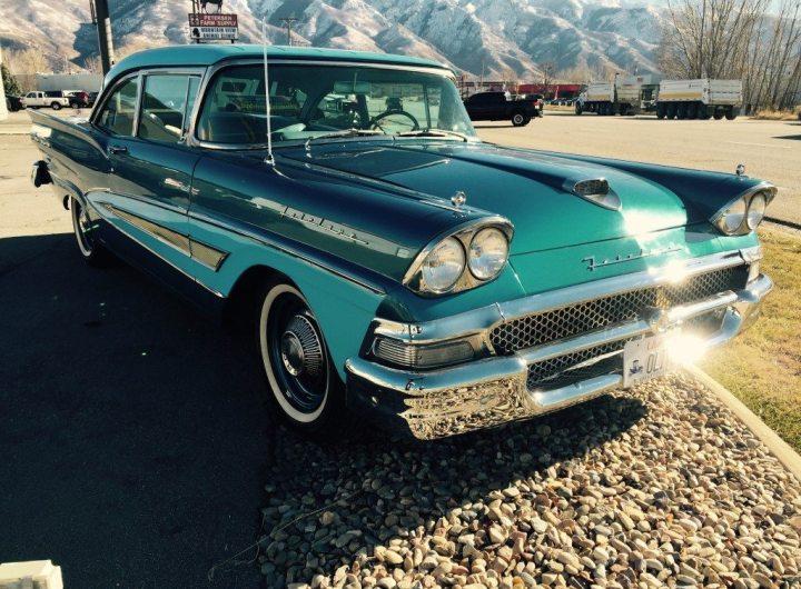 Vintage Cars and Custom Glass